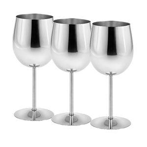 3 stück Edelstahl Weinglas Weißweingläser Champagnergläser Weinbecher für Picknick, Abendessen, Party