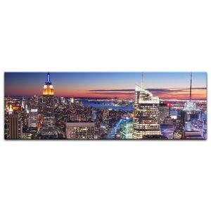 Leinwandbild - New York, New York, Größe:120 x 40 cm