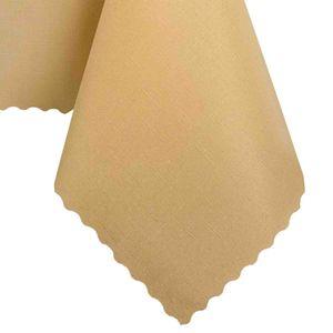 Tischdecke Abwaschbares Tischtuch Schmutzabweisend Tischdeko 90x140cm Pfirsich