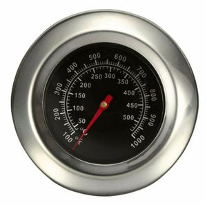 Barbecue Thermometer Bratenthermometer Grillthermometer BBQ Edelstahl Gasgr B5W5