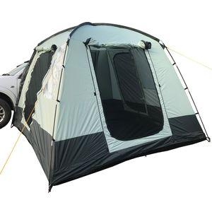 Skandika Busvorzelt Pitea Van | 4 Personen Zelt | Reisemobilzelt | Kuppelzelt für Bus und Caddy | 3000 mm Wassersäule |