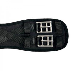 KAVALKADE Sattel-Kurzgurt Klimatex ohne Elastik schwarz, 60 cm
