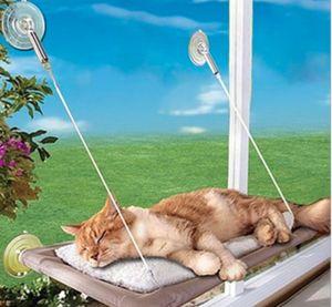 Fensterplatz Katzen Liege Hängematte Fenster Liegeplatz Bett Balkon für Haustier Katze 55*35 cm