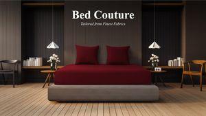 Bed Couture - Flannel Fleece Spannbettlaken Feinste 100% Baumwolle Biber-Flanell 140x200+30 Kastainienbraun