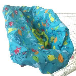 1 Stück Warenkorb Abdeckung Farbe Bunter Fisch
