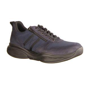Xsensible SWX3-222 Navy, Keder, Herren Schnürer, Bequemschuh, NEU - Herrenschuhe Sneaker / Schnürschuh, Blau, leder (stretchleder)
