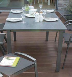 Gartentisch / Lofttisch MFG 160x90cm Alu graphit / Topalit Betonoptik