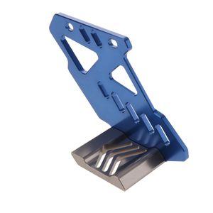 Hintere Kettenführung CNC Aluminium Hinterer Kettenführungs-Gleitschutz Für Kawasaki KLX250