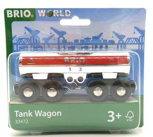 Brio World 33472 Tankwagen Tank Wagon Holzeisenbahn