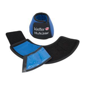 Kieffer Kühlglocke Hufkühler blau mit integrierten Kühlpads , Größe:L