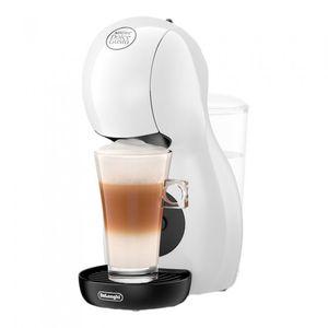 DeLonghi Piccolo EDG110.WB, Pad-Kaffeemaschine, 0,8 l, Kaffeekapsel, 1400 W, Weiß
