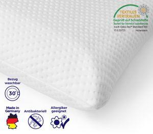 Mister Sandman Kissen 40x80 - Premium Kopfkissen - Schlafkissen - Wohlfühlkissen für einen gesunden Schlaf