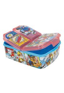 Paw Patrol Kinder Premium Brotdose Lunchbox Frühstücks-Box Vesper-Dose mit 3 Fächern