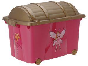 Prinzessinenbox 57 Liter - Rollbox Mädchen