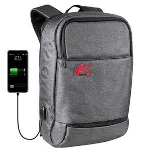 """Laptoprucksack Rucksack Laptop 15,6"""" Zoll Anti-Diebstahl USB-Ladeport Wassefest Unisex"""
