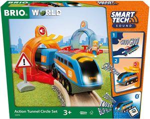 Brio World Eisenbahn Set Smart Tech Sound Starter Set 3 Teile 33974