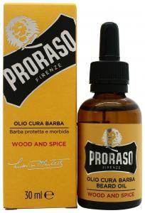 Proraso Bart Öl Wood & Spice 30ml