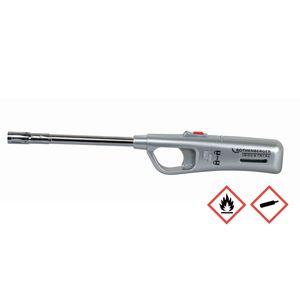 Rothenberger Gasanzünder Stabfeuerzeug Sturmsicher Farbe silber