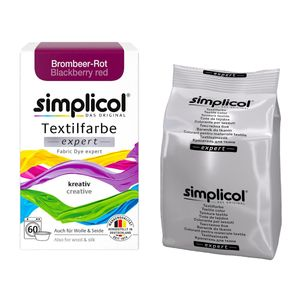 Simplicol Textilfarbe expert für einfaches Färben Brombeer Rot