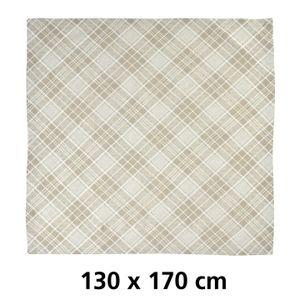 Tischdecke BRANDON granit 130x170cm (943-13-27)