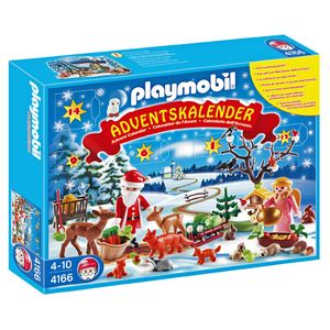 Playmobil Advent Calendar Forest Winter Wonderland 4166