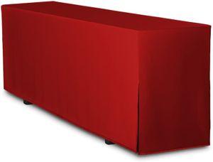 Biertisch-Husse Premium für Bierzeltgarnitur Festzeltgarnitur 220x50 cm in Rot (nur Tisch)
