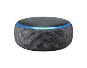 Amazon Echo Dot (3. Generation) Lautsprecher mit Alexa Anthrazit