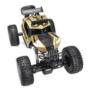 1:8 Groß RC Monster Truck 50cm ferngesteuertes Auto 4WD Geländewagen Stoßdämpfer Gold