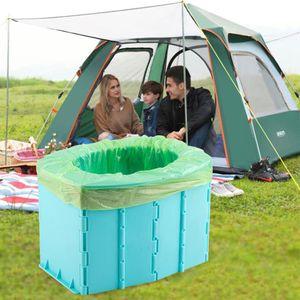 Autotoilette-Kinder , Auto Camping Toilette, Mobile Klapptoilette, Tragbare Toilette, Falten Mobile Tragbare Urinbeutel, Leicht Zu Reinigen