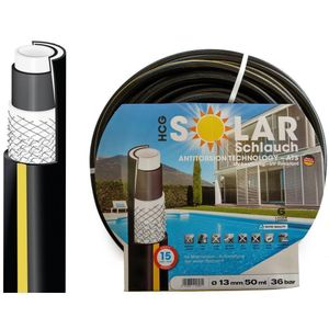 """Premium Solarschlauch schwarz 1/2"""" (13 mm), 50 Meter"""