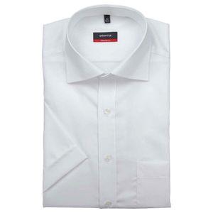 Eterna Modern Fit Hemd Halbarm Popeline Weiß 1100/00/C187, Größe: 42