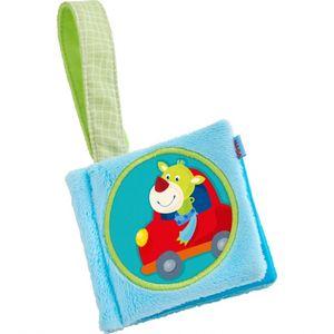 Haba babybuch Drache Duri 12 x 10 cm blau
