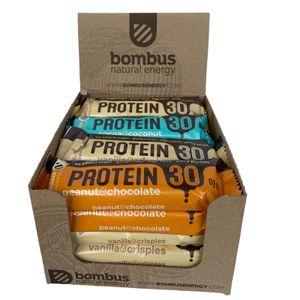 Bombus High Protein Riegel Sparpaket mit 30% Protein 15 Stück (750g)