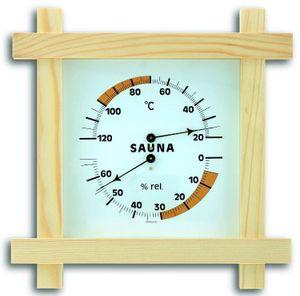 TFA Sauna-Thermo-Hygrmometer Holzrahmen