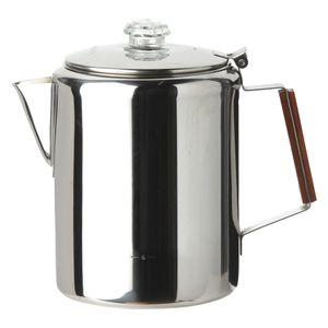 Coghlans Edelstahl Coffee Pot 12 Tassen