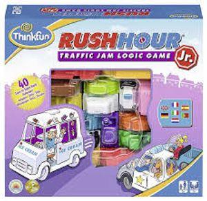 ThinkFun Rush Hour Junior, Lernspiel, Kinder & Erwachsene, Junge/Mädchen, 5 Jahr(e), 40 Stück(e), Indoor