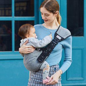 Multifunktionale tragbare Baby grau Wickelträger Krankenpflege Abdeckung Babytrage Sling