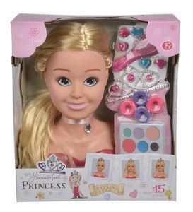 Simba Toys SLG Prinzessin Schmink-& Frisierkopf