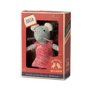 Das Mäusehaus Plüschfigur Julia (13cm) in Geschenkbox Stofftier Plüschtier Kuscheltier Maus