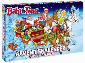 Bibi & Tina Adventskalendermit  3D-Figuren