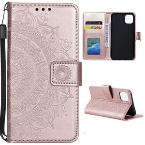 Hülle für Xiaomi Mi 11 Lite 5G Handyhülle Flip Case Cover Mandala Rosegold