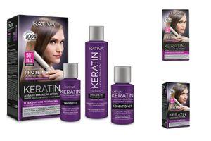 Kativa Brazilian Xpress Keratin - Haarglättungs Kit