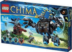 Lego 70008 Legends of Chima - Gorzans Gorilla Robo