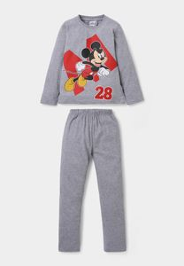 Disney Mickey Mouse Pyjama - Grijs - 98