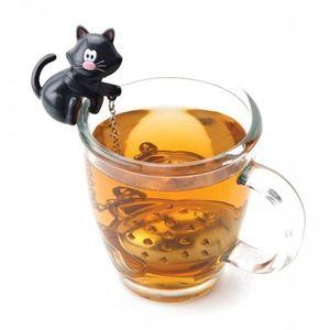 Katze & Fisch Tee-Ei