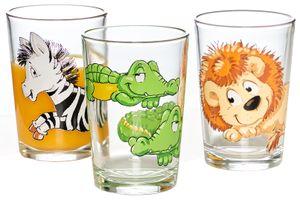 "Flirt by R & B Kinder-Trinkglas ""Happy Zoo"" 205 ml"