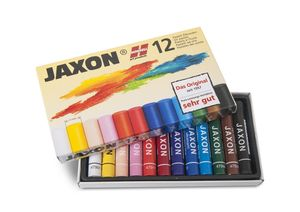 JAXON® Ölpastellkreiden-Set-12er Etui