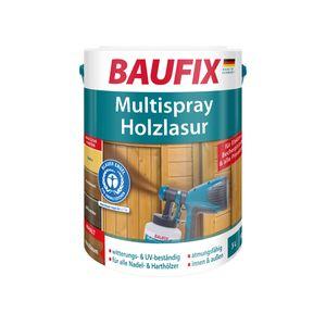 BAUFIX Multispray-Holzlasur nussbaum