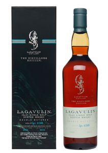 Lagavulin The Distillers Edition Distilled 2003 Bottled in 2019 Double Matured Islay Single Malt Scotch Whisky in Geschenkpackung | 43 % vol | 0,7 l