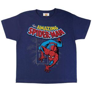 Marvel - Amazing Spider-Man T-Shirt für Jungen PG704 (140-146) (Marineblau)